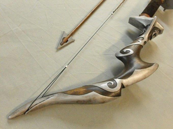 Дизайнер изготовил лук из Skyrim. Изображение № 35.