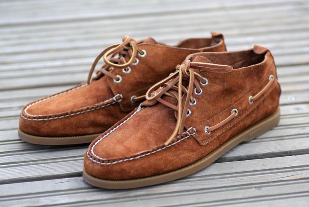 Ботинки Chukka от Sperry Top-Sider. Изображение № 4.