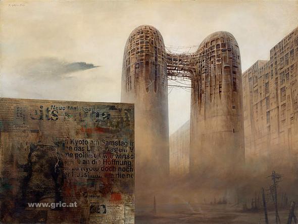 Фантастический реализм Питера Грича. Изображение № 6.