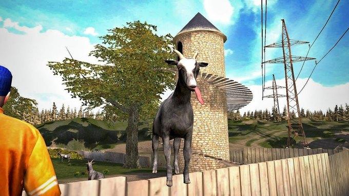 Симулятор козла вышел в App Store и Google Play. Изображение № 4.