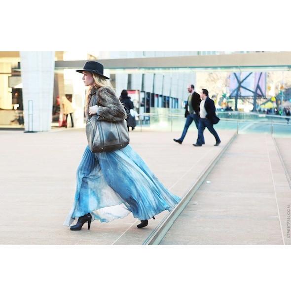 Изображение 167. На полях: 10 тенденций уличного стиля с прошедших недель моды.. Изображение № 167.