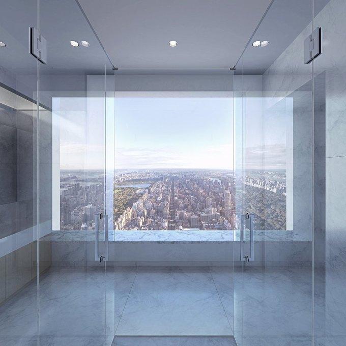 Фото дня: вид с самого высокого жилого здания Нью-Йорка. Изображение № 5.