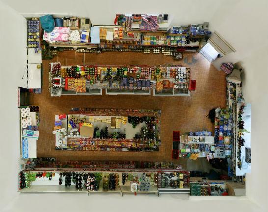 """Вид сверху лучше: """"Портреты комнат"""", сделанные с потолка. Изображение № 7."""