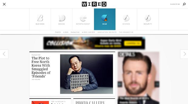 Издание Wired провело полный редизайн сайта. Изображение № 6.