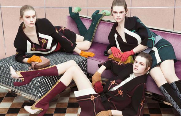 Изображение 9. Кампания: Prada FW 2011.. Изображение № 9.
