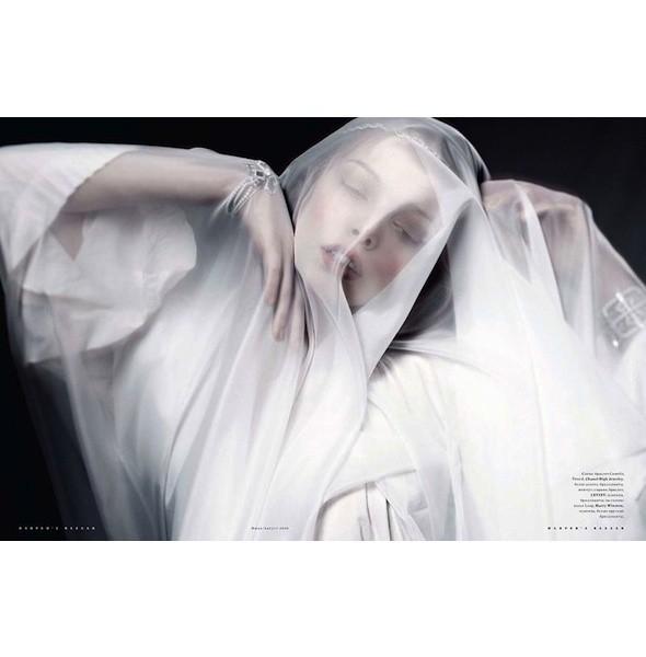 5 новых съемок: Amica, Elle, Harper's Bazaar, Vogue. Изображение № 24.