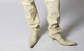 Мужские туфли накаблуках. Изображение № 5.