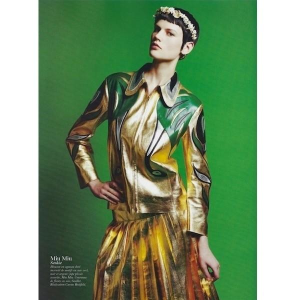 Изображение 6. Съемки: Harper's Bazaar, Industrie, Vogue и другие.. Изображение № 53.