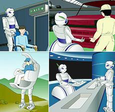 Роботы отToyota. Домашний робот – помощник. Изображение № 2.
