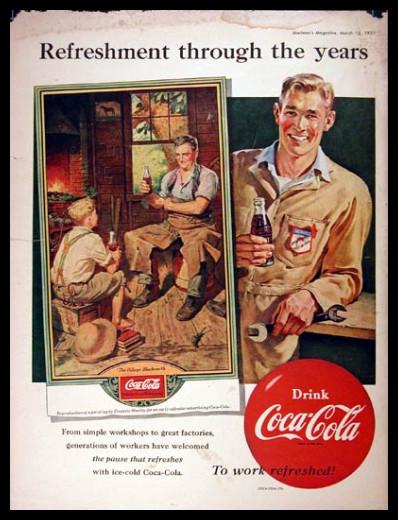 Изображение 44. Coca-cola – История бренда, история рекламы.. Изображение № 44.