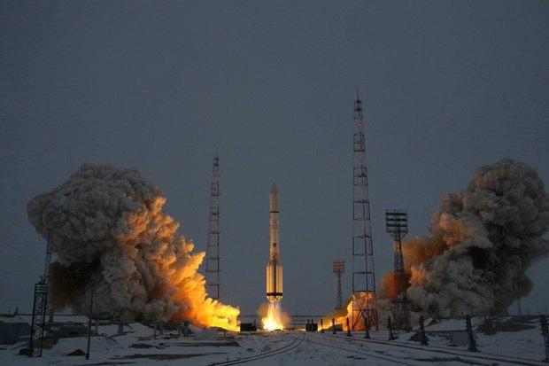 Запуск «Протон-М» с Байконура в декабре 2013 года. Изображение № 1.