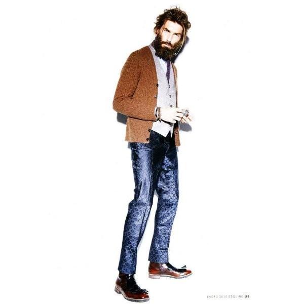 Изображение 18. Новые мужские съемки: Vogue Hommes, GQ и другие.. Изображение № 27.