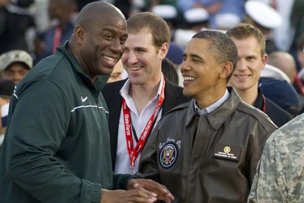 Выборы-выборы: Звездный фотоальбом Барака Обамы. Изображение № 3.