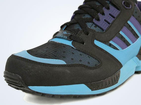 Adidas Originals ZX 8000 – Black – Super Cyan. Изображение № 1.