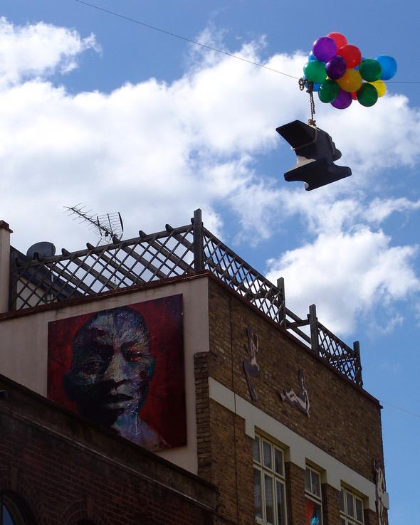 Стрит-арт в Лондоне. Изображение № 24.