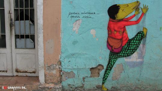 Граффити художники Os Gmeos о творческом пути. Изображение № 15.
