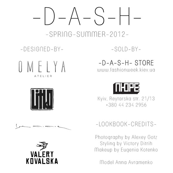 Лукбук проекта -D-A-S-H-, весенне-летняя коллекция. Изображение № 28.