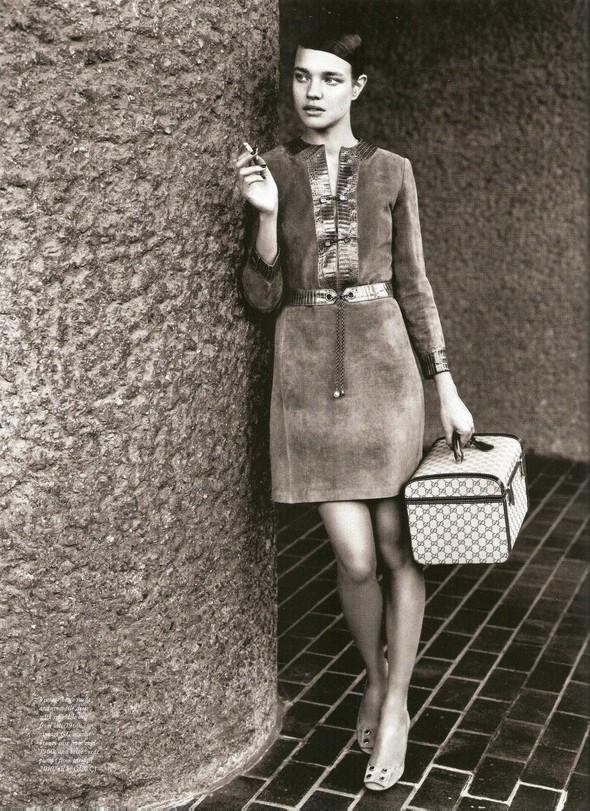 Съёмка: Наталья Водянова в Gucci для Love. Изображение № 5.