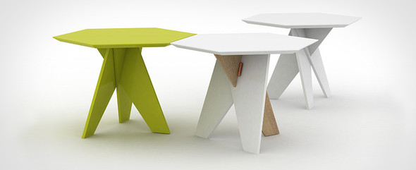 Шестиугольный стол Cell-za-table. Изображение № 1.