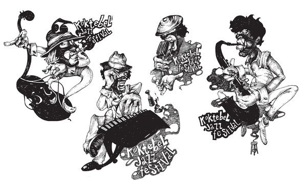 Изображение 19. Кастинг принтов для футболок SEKTA: Koktebel Jazz Fest.. Изображение № 19.
