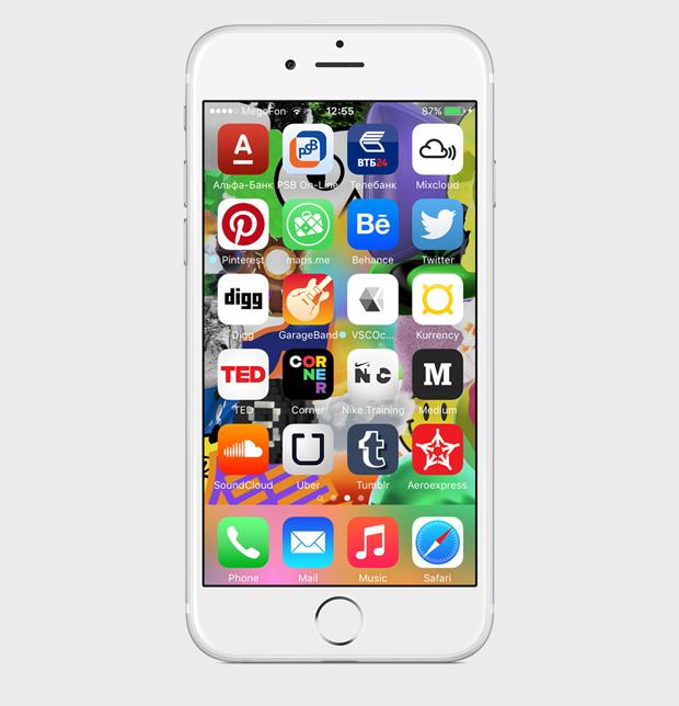 Экран моего смартфона: дизайнер Роман Любимов. Изображение № 4.