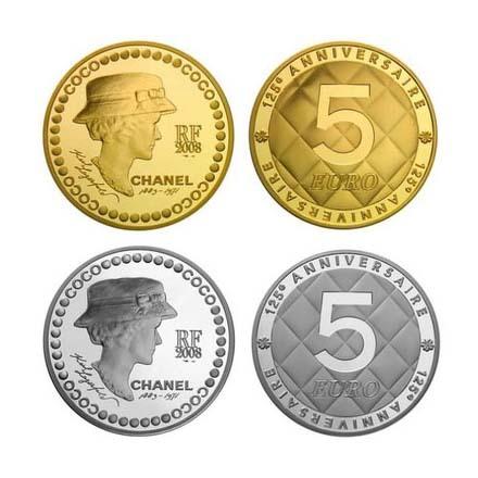 Coco Chanel появится намонете в5 евро. Изображение № 1.