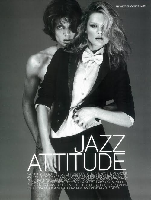 Jazz Attitude Vogue French October 2009. Изображение № 1.