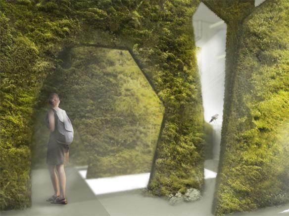Диалог с природой: вертикальные сады. Изображение № 35.