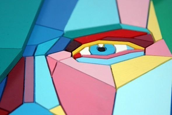 Изображение 5. Фанерная мозаика Aske.. Изображение № 4.