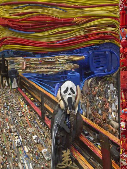 Картины из мусора. Изображение № 19.