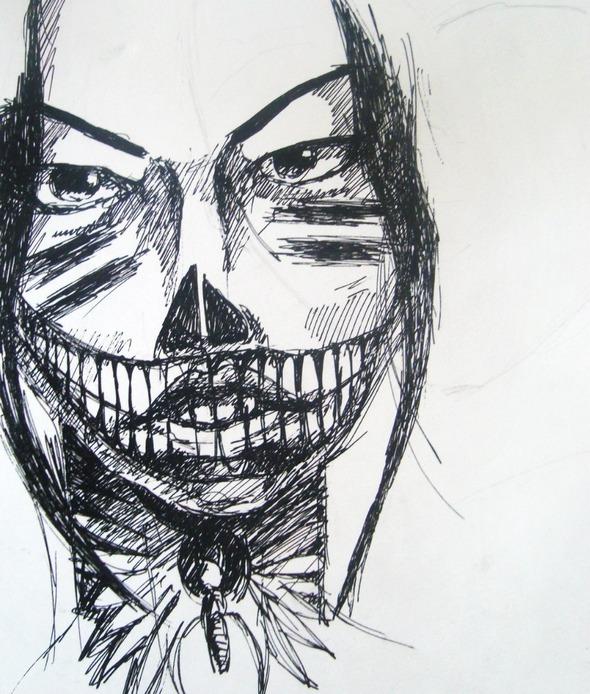 импровизация рисунка (3). Изображение № 2.