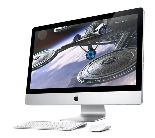 Новый огромный iMac иего магическая мышь. Изображение № 1.