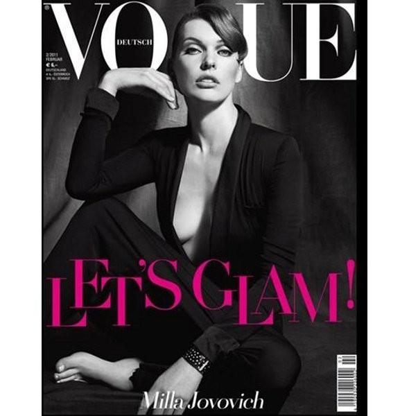 Изображение 4. Обложки Vogue: китайский, британский и другие.. Изображение № 1.