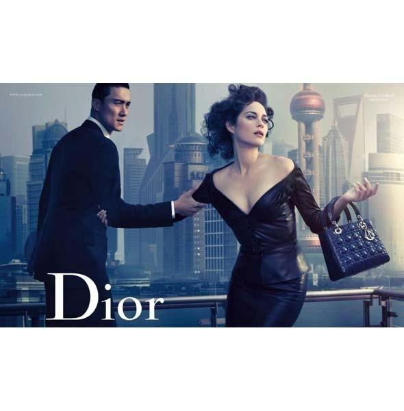 Рекламная кампания Lady Dior с Марион Котийяр . Изображение № 4.