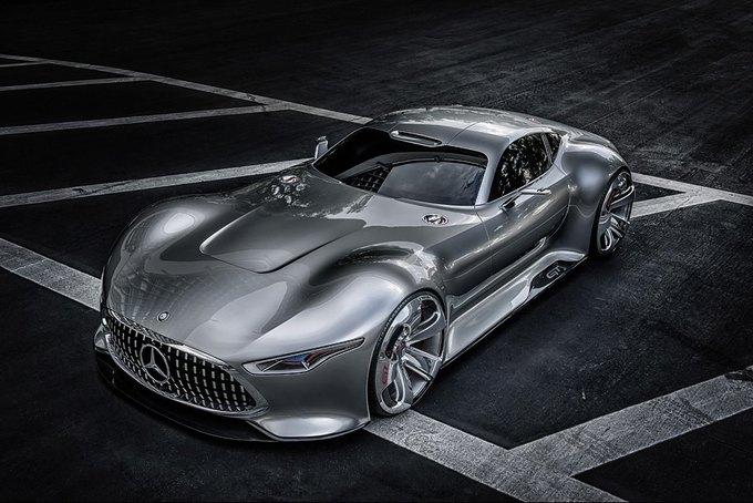 Mercedes-Benz разработала концепт спорткара для новой части Gran Turismo. Изображение № 5.