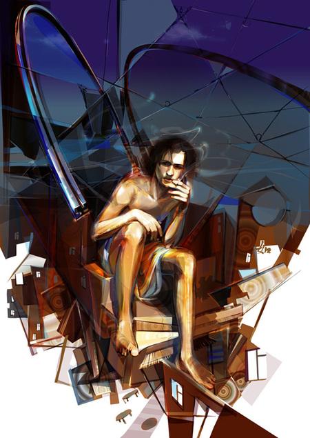 Limkis иеё живописный вектор. Изображение № 13.