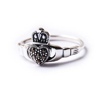 Кольца влюбленных — кладдахские кольца из Ирландии. Изображение № 6.