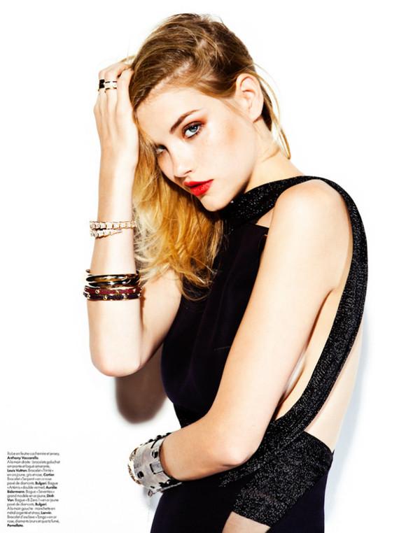 Съёмка: Эшли Смит для Elle. Изображение № 3.