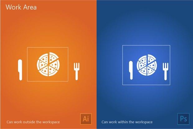 Дизайнер сравнил работу вPhotoshop и Illustrator на13постерах . Изображение № 3.