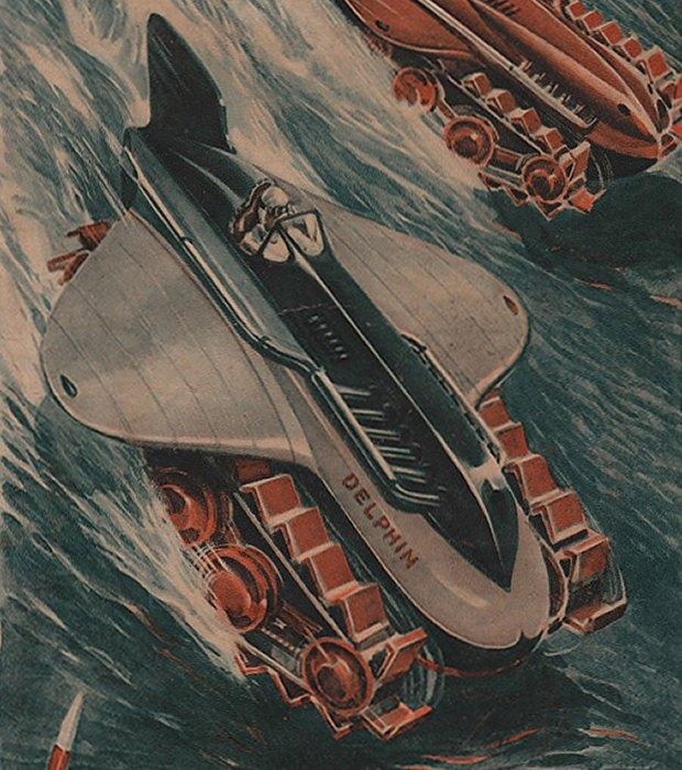 Транспорт будущего: 5 странных идей из Японии 30-х. Изображение №7.