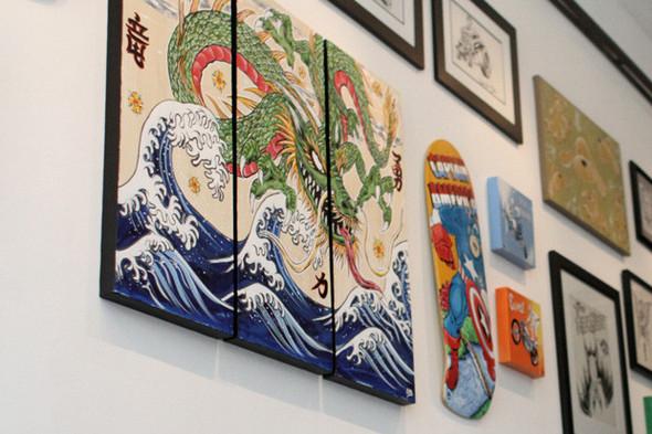 К доске: 10 художников-скейтбордистов. Изображение №34.