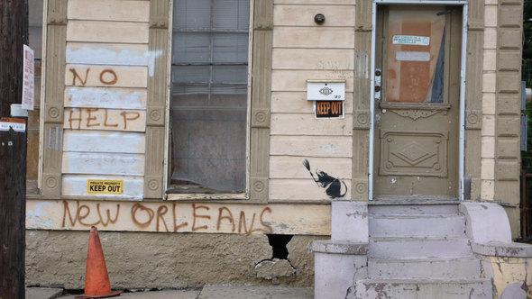 Изображение 37. Banksy (уличная мышь – герой).. Изображение № 37.