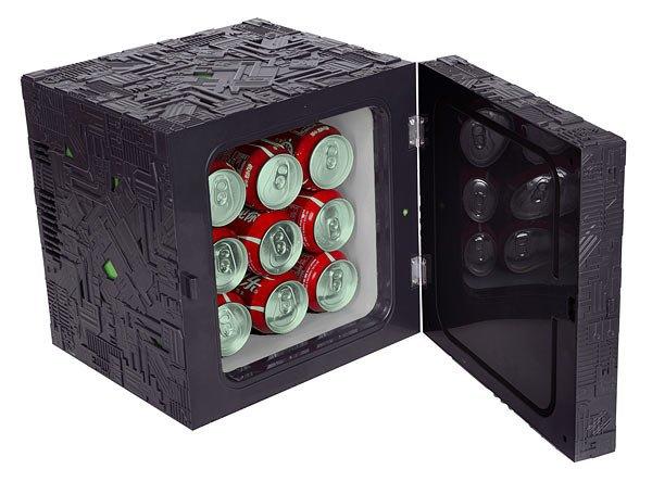 На ThinkGeek появился холодильник в виде куба боргов из «Звёздного пути» . Изображение № 2.