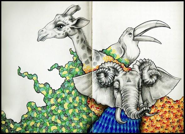 Рисунки в блокнотах. Изображение №12.