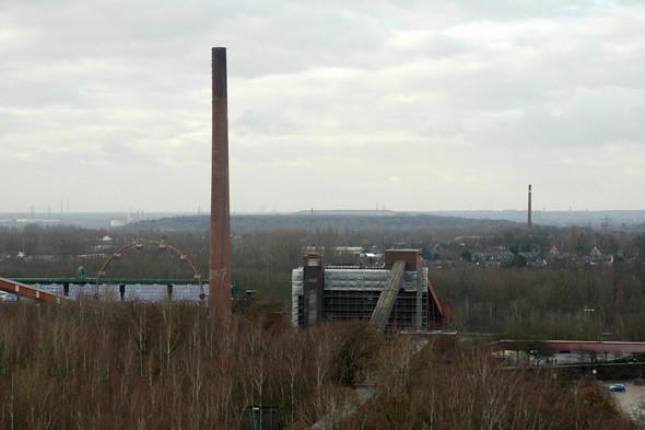 Вид на Рурскую область со смотровой площадки шахты. Изображение № 21.