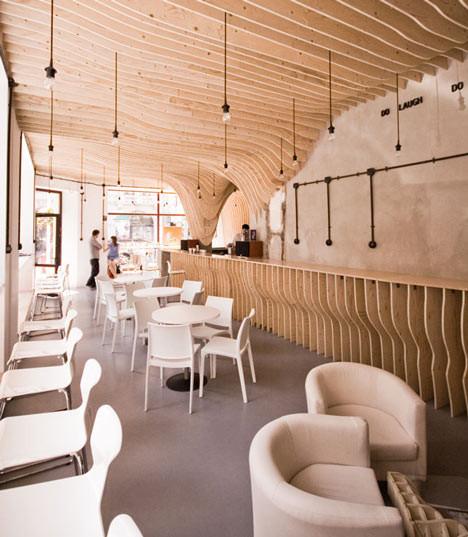 Под стойку: 15 лучших интерьеров баров в 2011 году. Изображение № 38.