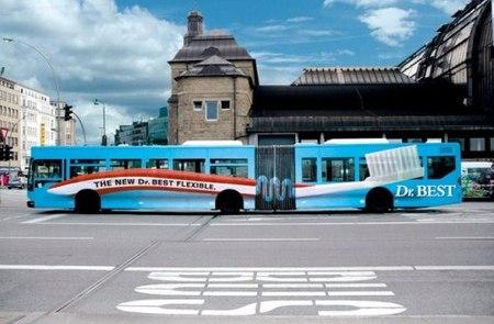 Необычная автобусная реклама. Изображение № 6.