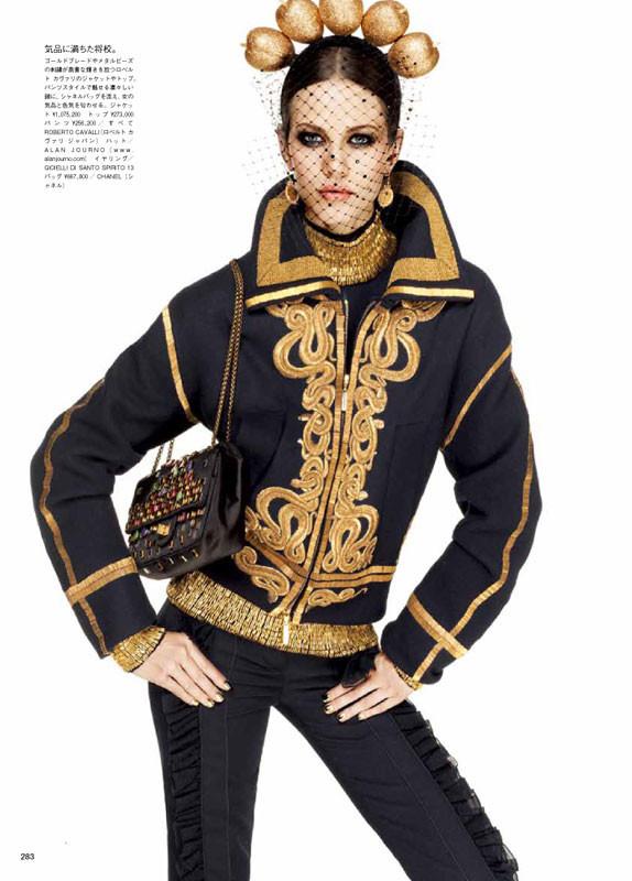 Съёмка: Эмелин Валад для Vogue. Изображение № 5.