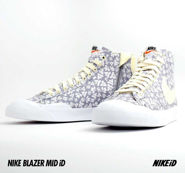 Nike X Liberty Summer Collection/  Blazer Mid iD.. Изображение № 26.