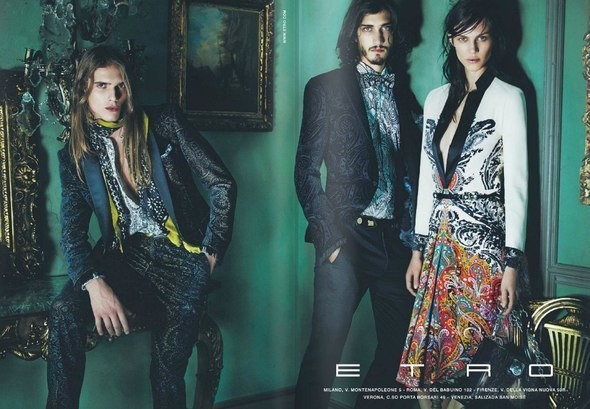 Изображение 1. Превью кампаний: Etro, Jean Paul Gaultier и Longchamp.. Изображение № 1.